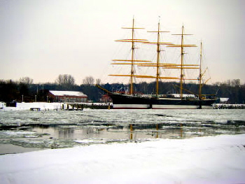 Winter in Travemünde